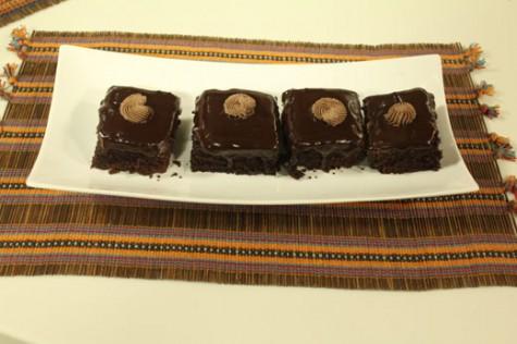 Hob Knob's Alaska Brownies
