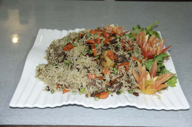 Beef Rice With Vegetables