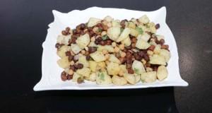 Black Chana Sweet Potato Chaat