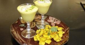 Mango Shrikhand with Mango Salad