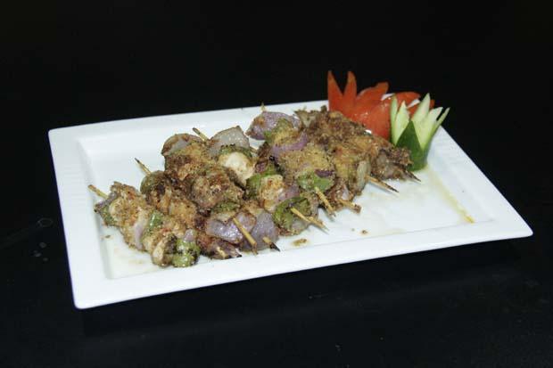 Cocktail fried shashlik