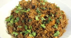 Kishmishi Chana Chicken Pulao