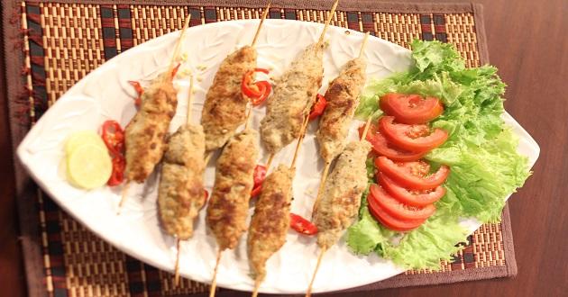 Chicken Reshmi Kabab Recipe by Chef Gulzar at Dawat