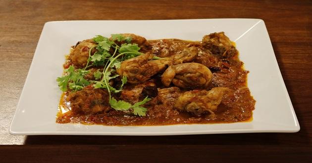 Spicy Dry Chicken by Chef Gulzar in Dawat
