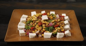 Corn Capsicum Chaat by Zarnak Sidhwa in Food Diaries