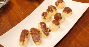 ECLAIRS Recipe in Lively Weekends with Kiran Khan