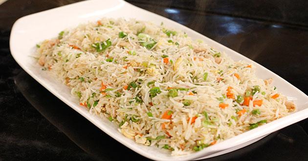 Mixed Fried Rice by Shireen Anwar at Masala Mornings