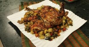 M'sakhan chicken roast