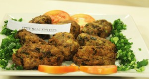 Spicy Meat Fritters