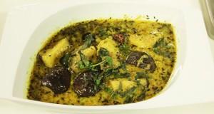 Baigen aur aalu ki karhi recipe in urdu