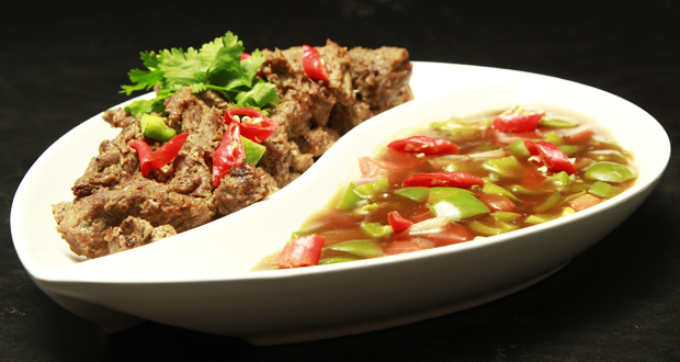 Beef Strips with Capsicum Sauce