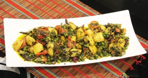 Mix Sabzi Handi by Zubaida Tariq in Handi
