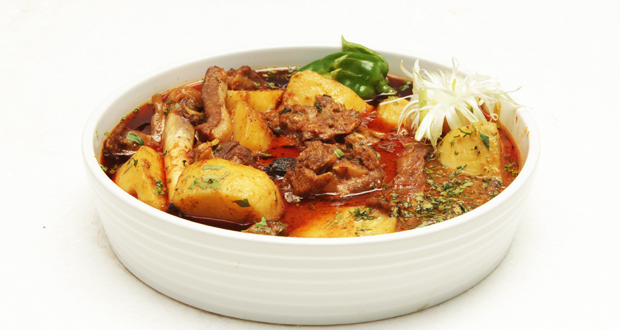 Delhi style Aalu Gosht by Shireen Anwar