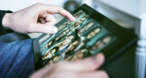 Touchscreen tablets beneficial to the visually impaired, study finds