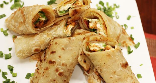 Tandori Chicken Paratha Roll