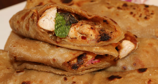 Butter Chicken Roll by Zubaida Tariq