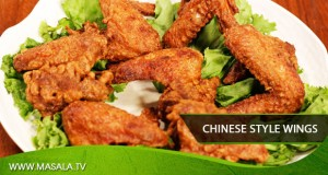 Chinese Style Wings by Gulzar Hussain