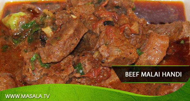 Beef Malai Handi by Rida Aftab