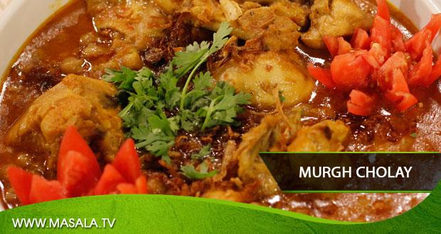 Murgh Cholay by Rida Aftab