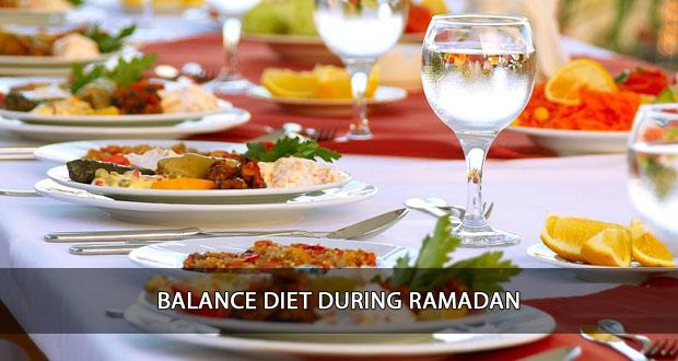Balance Diet During Ramadan