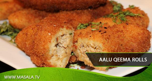 Aalu Qeema Rolls by Zubaida Tariq
