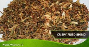 Crispy Fried Bhindi by Zubaida Tariq