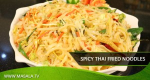 Spicy Thai Fried Noodles
