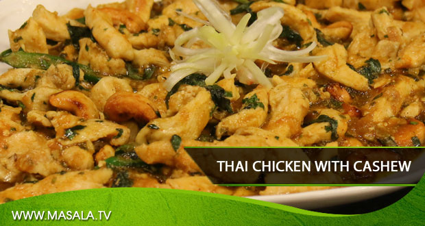 Thai Chicken with Cashew