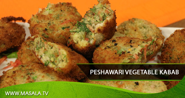 Peshawari Vegetable Kabab