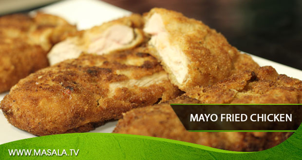 Mayo Fried Chicken by Zubaida Tariq