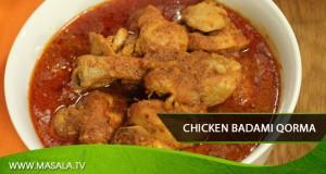 Chicken Badami Qorma