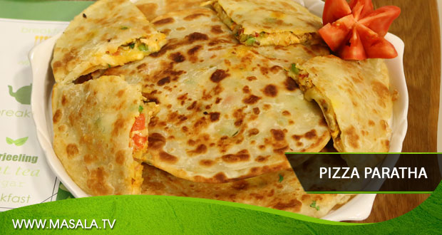 Pizza Paratha by Shireen Anwar