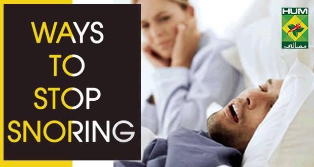 7 Ways To Stop Snoring
