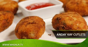 Anday Kay Cutlets By Zubaida Tariq