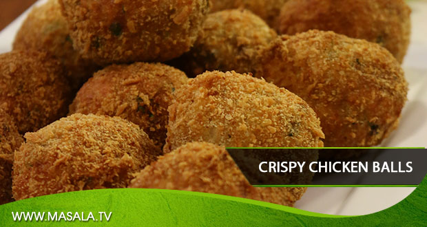 Crispy chicken balls By Shireen Anwar