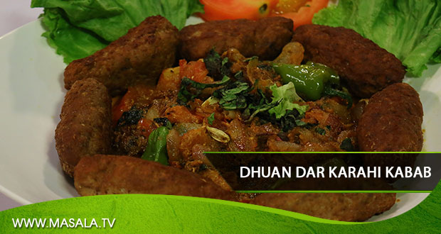 Dhuan Dar Karahi Kabab By Rida Aftab