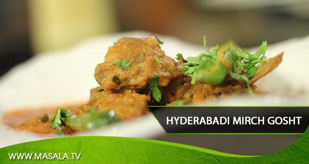 Hyderabadi Mirch Gosht By Rida Aftab