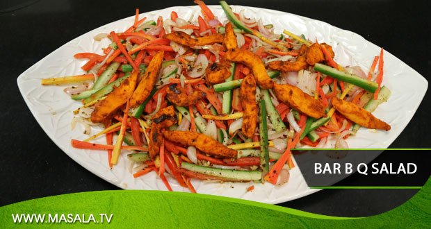 Bar B Q Chicken Salad by Gulzar