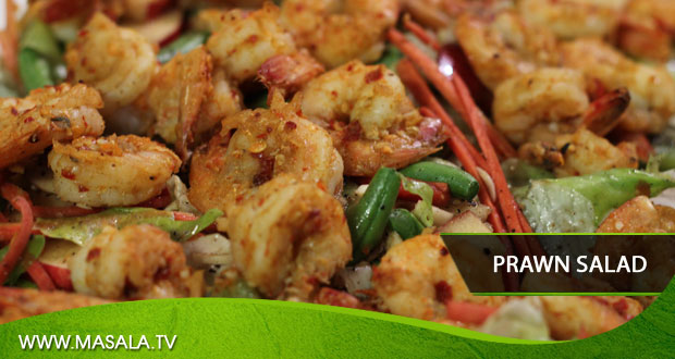 Prawn Salad by Chef Gulzar