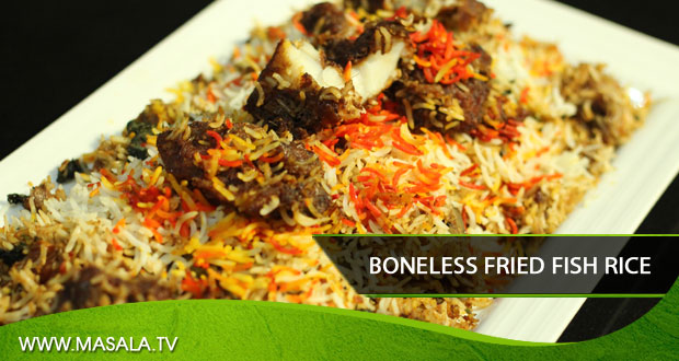 Boneless Fried Fish Rice