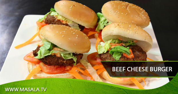 Beef Cheese Burger by Gulzar