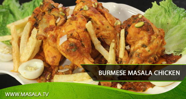 Burmese Masala Chicken