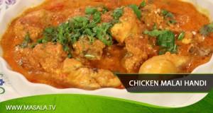 Chicken Malai Handi by Rida Aftab
