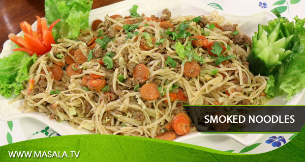 Smoked Noodles by Rida Aftab