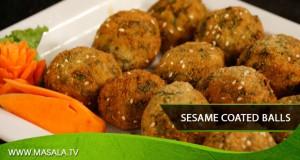Sesame Coated Balls by Shireen Anwar