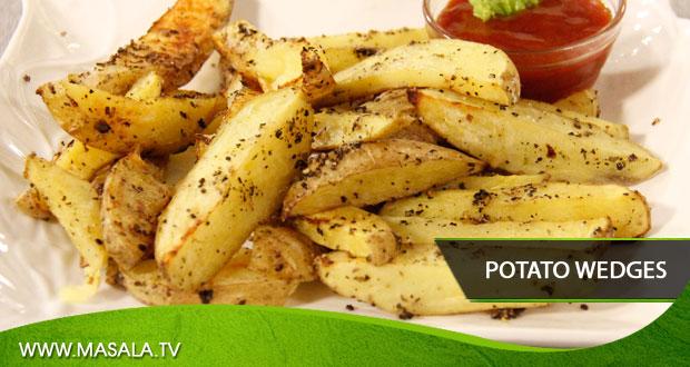 Potato wedges by Tahir Chaudhary