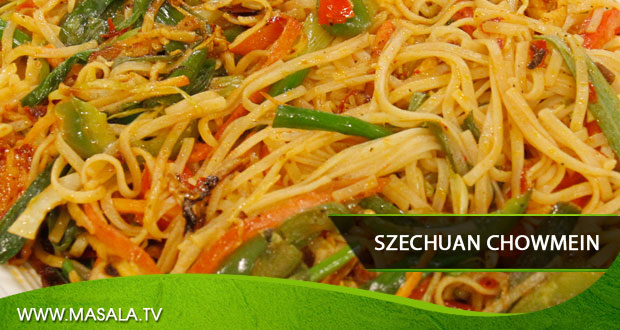 Szechuan Chowmein by Shireen Anwar