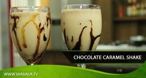Chocolate Caramel Shake by Shireen Anwar