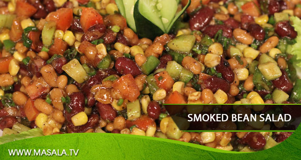 Smoked Beans Salad by Shireen Anwar