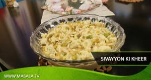 Sivayyon Ki Kheer By Zubaida Tariq